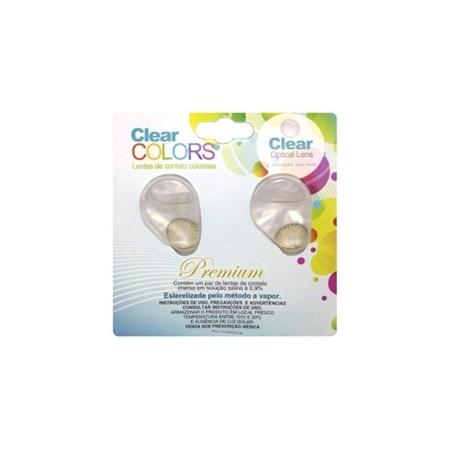 8aecb2e96cf4d Lentes de Contato Coloridas CLEAR COLORS PREMIUM Mensal - SEM GRAU