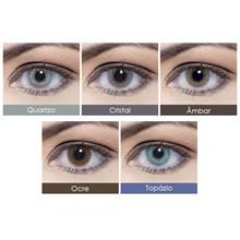 Lentes de Contato Coloridas Hidrocor Mensal - Sem Grau