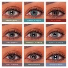 Lentes de contato coloridas Natural Vision anual - Sem grau