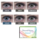 Lentes de Contato Coloridas Natural Vision Mensal - Com Grau