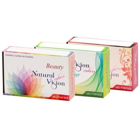 148d0fd57b Lentes de Contato Coloridas Natural Vision Mensal - Sem Grau