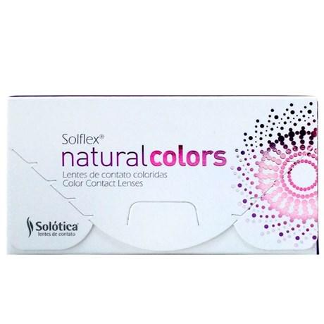0b9b186f7c167 Lentes de Contato Coloridas Solflex Natural Colors - SEM GRAU ...