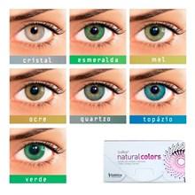 Lentes de Contato Coloridas Solflex Natural Colors - SEM GRAU