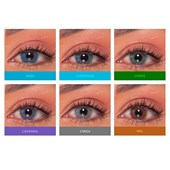 Lentes de contato Magic Top Optycolor Intense