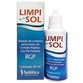 LIMPI SOL - Solução de limpeza para lentes de contato Rígidas (RGP)