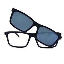 Óculos de grau com Clip On Arnette Hypno AN4274 2674/1W 55