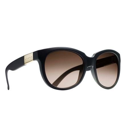 Óculos de Sol Evoke Mystique Preto Fosco   Marrom Degradê - Newlentes f3474828b6
