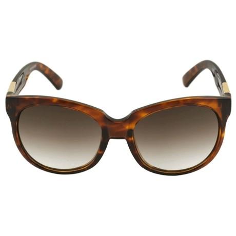 Óculos de Sol Evoke Mystique Tartaruga e Dourado / Marrom degradê