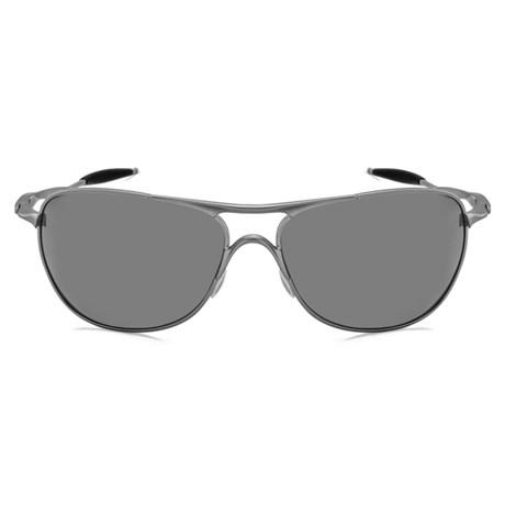 bc95c9b55 Óculos de Sol Oakley Crosshair 4060-06 Polarizado Prata Espelhado