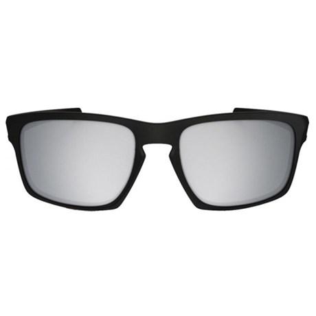 Óculos de Sol Oakley Sliver 9262L26 Prata Espelhado