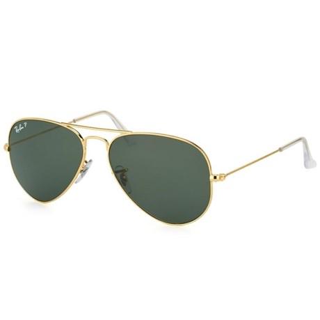 Óculos de Sol Ray Ban Aviator Large Metal RB3025 001/58 62 3P