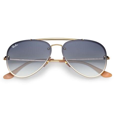 9f4b1a2b1 Óculos de Sol Ray Ban Blaze Aviator RB3584N 001/19 61 - Newlentes