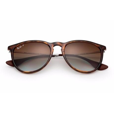 57a2314e46a20 Óculos de Sol Ray Ban Erika Metal RB4171L 710 T5 54 Polarizado