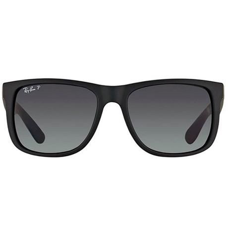 Óculos de Sol Ray Ban Justin RB4165 Preto 622/T3 55 Polarizado