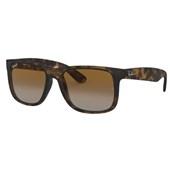 Óculos de Sol Ray Ban Justin RB4165L 865/T5 55 Polarizado