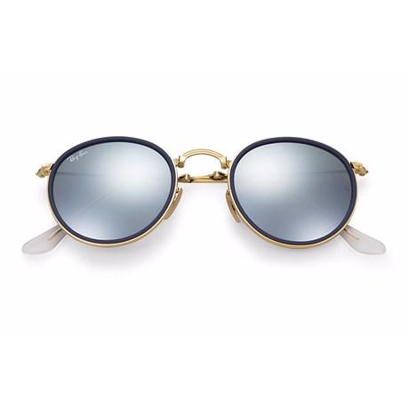 Óculos de Sol Ray Ban Round Dobrável RB3517 001/30 51 3N