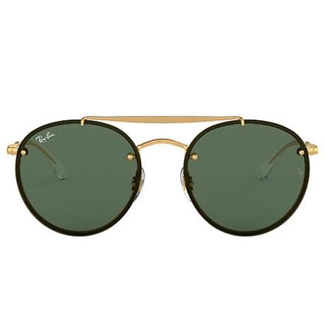 Óculos de Sol Ray Ban Round Double Bridge RB3614N 9140/71 54