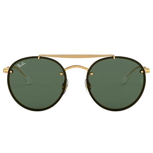 Óculos de Sol Ray-Ban Round Double Bridge RB3614N 9140/71 54