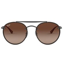 Óculos de Sol Ray-Ban Round Double Bridge RB3614N 9144/13 54