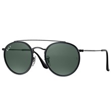 Óculos de Sol Ray-Ban Round Double Bridge RB3647N 002/58 3P