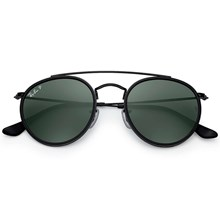Óculos de Sol Ray Ban Round Double Bridge RB3647N 002/58 3P