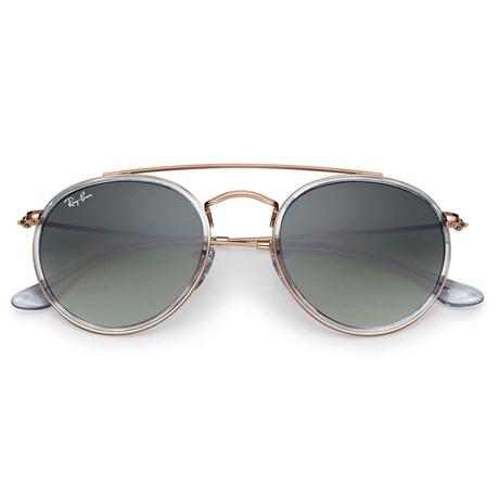 Óculos de Sol Ray Ban Round Double Bridge RB3647N 9067 71 51 - Newlentes 3894b0315e