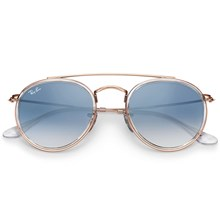 Óculos de Sol Ray-Ban Round Double Bridge RB3647N 9068/3F 51