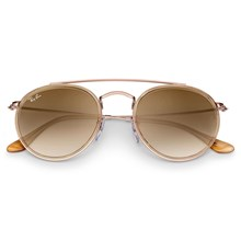 Óculos de Sol Ray Ban Round Double Bridge RB3647N 9070/51 51