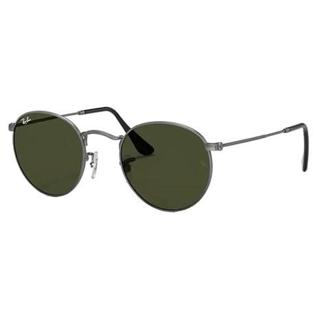 d3d001fe8 Óculos de Sol Ray Ban Round Metal RB3447L 029 53 3N