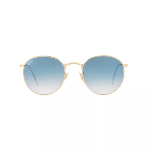Óculos de Sol Ray Ban Round Metal RB3447N 001/3F 53