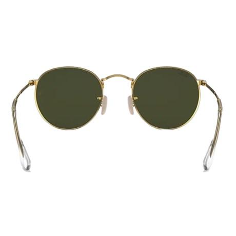 ce2dfc5dc7f81 Óculos de Sol Ray Ban Round Metal RB3447L 001 50