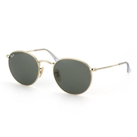 021cfb4b7 Óculos de Sol Ray Ban Round Metal RB3447L 001 50