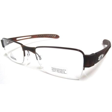 Óculos Receituário Adidas A879 40 6055 - Tamanho 50