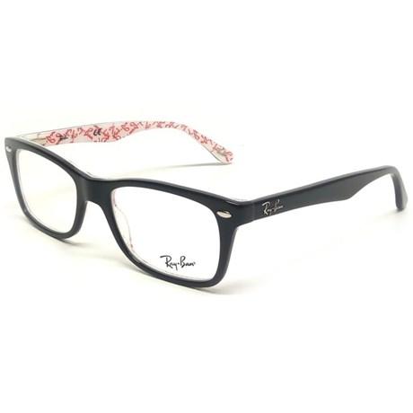 Óculos Receituário Ray Ban RB5228 5014 - Tamanho 53 - Newlentes 5acb47ea1f