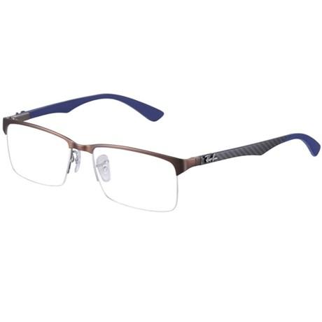 Óculos Receituário Ray Ban RB8411 2713 - Tamanho 52