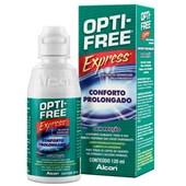Opti-Free Express 120ml - Solução para lentes de contato