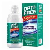 Opti-Free Express 355ml - Solução para lentes de contato