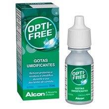 Opti-Free gotas umidificante 15 ml