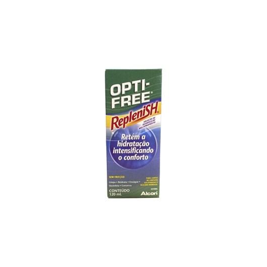 Opti-Free Replenish 120ml - Solução para lentes de contato
