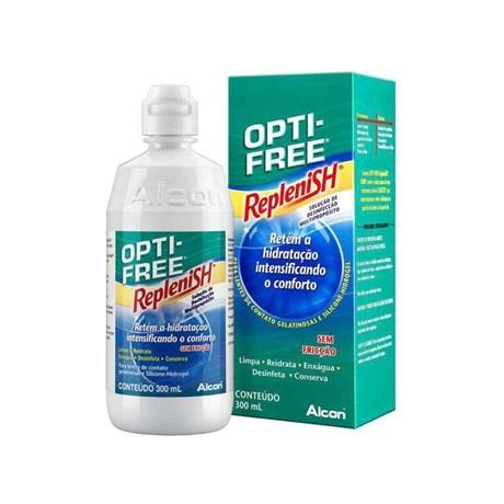 607fb8033ec69 Opti-Free Replenish 300ml - Solução para lentes de contato - Newlentes