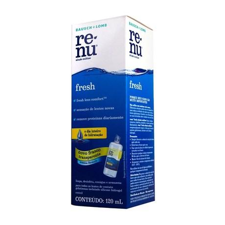 Renu Fresh 120ml - Solução para lentes de contato 2976509f87
