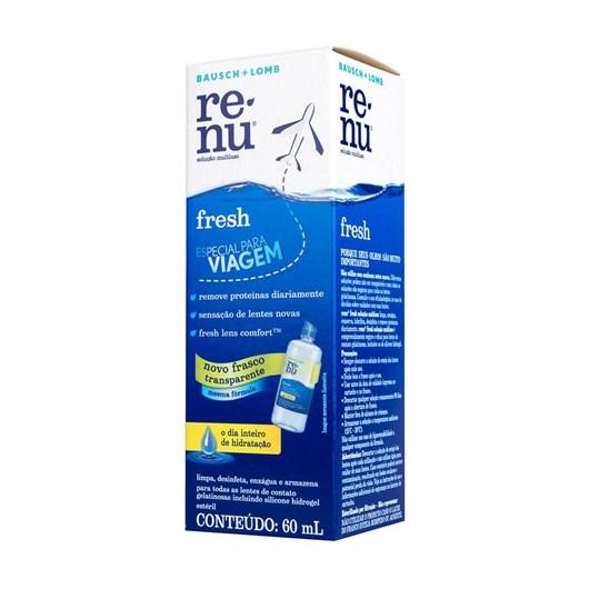 Renu Fresh 60ml - Solução para lentes de contato