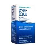 Renu Plus Gotas Umidificante 8ml - Solução para lentes de contato