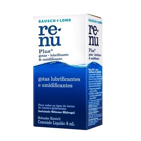 Renu Plus Gotas Umidificante 8ml - Solução para lentes de contato 891f57977f